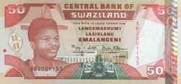 Swaziland 50 Emalangeni P-31a UNC - Swaziland