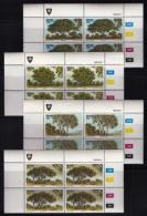 VENDA, 1984, Mint Never Hinged Stamps In Control Blocks, MI 95-98, Indigenous Trees, X321 - Venda