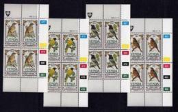 VENDA, 1985, Mint Never Hinged Stamps In Control Blocks, MI 103-106, Songbirds, X323 - Venda