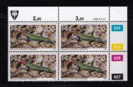 VENDA, 1986, Mint Never Hinged Stamps In Control Blocks, MI 137, Ferns, X329 - Venda