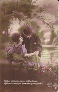 CPA  COUPLES.  Combien Nous Nous Aimons, Petite Fiancée!. ..G352 - Couples