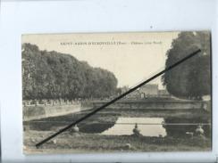 CPA Rétrécit - Saint Aubin D'Ecrosville - (Eure) - Château (côté Nord ) - Saint-Aubin-d'Ecrosville