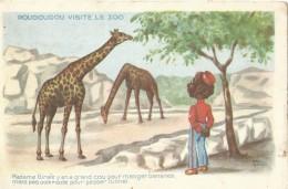 Roudoudou Visite Le Zoo - Girafe - Humour