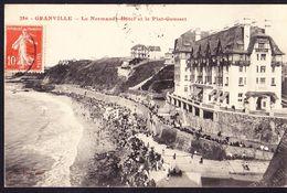 CPA - GRANVILLE (50 - MANCHE) - LE NORMAND HOTEL ET LE PLAT GOUSSET (N° 286) - ANIMEE - Granville