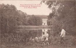(Essonne) Buno-Bonnevaux, Environs D'Etampes - 91 - Le Château De Moignanville Et La Pièce D'Eau (animée) - France
