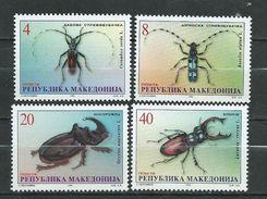 Macedonia / Macedonie 1998 Beetles. MNH - Macedonië