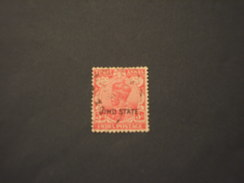 JHIND - 1927/37 RE  3 A. - TIMBRATO/USED - Jhind