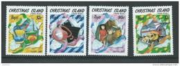 Christmas Island 1988 Xmas Toys Set 4 MNH - Christmas Island