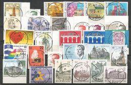 1984 - SUPERBE LOT DE 39 TIMBRES + 1 BLOC -   HUY 11 + 55 Timbres Oblitérés + 10 Documents - Belgien
