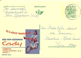 België Belgique Publibel 2394 Cady / 1972 Kermt / Cyclomoteur Bromfiets Scooter - Motorbikes