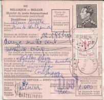 Postwissel Mandat De Poste 1969 Poortman / Griffe Chatelineau >> Cortoghiana ITA - Belgium