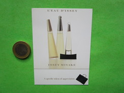 ISSEY MIYAKE  -  Carte Parfumée - Cartes Parfumées