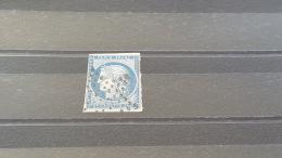 LOT 364369 TIMBRE DE FRANCE OBLITERE N°4 VALEUR 60 EUROS - 1849-1850 Cérès
