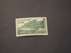 ITALIA REPUBBLICA - 1950 UNESCO L. 20 - NUOVO(++) - 1946-60: Mint/hinged