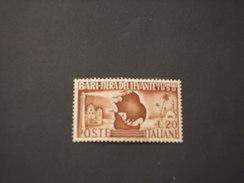 ITALIA REPUBBLICA - 1950 FIERA BARI - NUOVO(++) - 1946-60: Mint/hinged