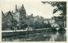 MALINES - Quai Du Sel Et Vieux Pont Gothique - Mechelen