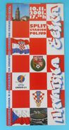 CROATIA : CZECH REPUBLIC - 2002. UEFA EURO U-21 CHAMPIONSHIPS Qual. Football Match Programme Soccer Programm Programma - Books