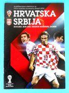 CROATIA : SERBIA - 2013. Football Match Programme Soccer Fussball Programm Programma Programa Kroatien Croatie Croazia - Books