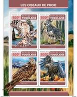 TOGO 2017 - Birds Of Prey, Owl. Official Issue. - Uilen