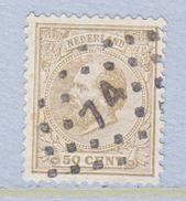 NETHERLANDS  31  (o) - Period 1852-1890 (Willem III)
