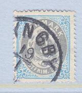 DENMARK 25c   (o) - 1864-04 (Christian IX)