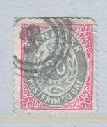 DENMARK 31 B   (o)  Blunt Perfs Top - 1864-04 (Christian IX)