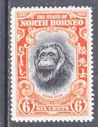 NORTH  BORNEO  186  *   ORANGUTAN - North Borneo (...-1963)
