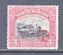 NORTH  BORNEO  B 3   *   RED  CROSS - North Borneo (...-1963)
