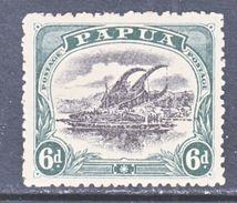 PAPUA  46  *  Wmk. 13 Crown,  Dbl Line A - Papua New Guinea