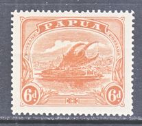 PAPUA  55  *  Wmk. 74 Crown,  Sinle Line A - Papua New Guinea