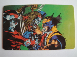 1 Remote Phonecard From America - GTS - Marvel Comics - Altri