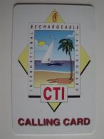 1 Remote Phonecard From America - CTI - Beach - Altri
