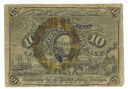 United STATES Of America , 10 Cents ,  Rare , FREE SHIP. TO USA. - Zonder Classificatie