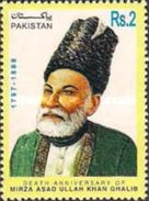 PAKISTAN MNH** STAMPS , 1998 The 200th Anniversary Of The Birth Of Mirza Asadullah Ghalib, 1797-1869 - Pakistan