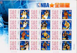 China 2007 NBA ALL STAR Special Full S/S B - Basketball