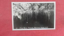 RPPC  Glow Worm Threads Waitomo Caves New Zealand    Ref 2660 - New Zealand