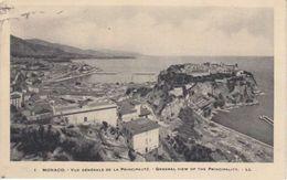 MONACO VUE DE 1928 - V/CACHET - Multi-vues, Vues Panoramiques