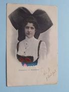 Elsässerin - Alsacienne ( Felix Luib ) Anno 1902 ( Details Zie Foto´s ) ! - Europe