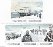 Australian Antarctic Territory  ASC 199-203 2012 Antarctic Expedition II Arrival And Exploration MNH - Unused Stamps