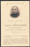 Souvenir Décès, Mémento, Auguste Chevalier, Curé De Saint-Emiland (Saône-et-Loire) 30 Novembre 1930 - Décès