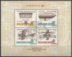 UNGARN 1967 Mi-Nr. Block 57 A O Used - Used Stamps