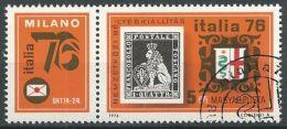 UNGARN 1976 MI-NR. 3143 A Zierfeld O Used - Ungarn