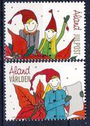 + Åland 2009. Christmas. Michel 319-20. MNH(**) - Aland