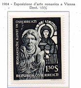 PIA - AUSTRIA  - 1964  : Esposizione Di Arte Romanica A Vienna -  (Yv 990) - Vetri & Vetrate