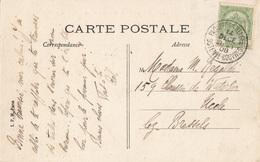 Paquebots Belges Ostende-Douvres CARTE VUE OBLITERE LE  14 DECEMBRE1908 - Marcophilie
