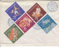 FDC DE 1961 -N/C - Haïti