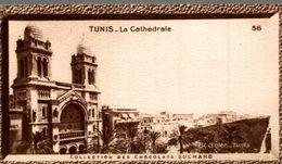 CHROMO IMAGE CHOCOLAT SUCHARD TUNIS LA CATHEDRALE - Suchard