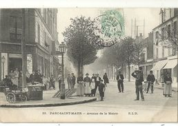 PARC SAINT MAUR.  Avenue De La Mairie - Saint Maur Des Fosses