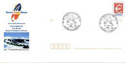 BESSE ET ST ANASTAISE (PUY DE DOME) : Oblitération 40è Anniversaire De SUPER BESSE Sur PAP CONCORDANT - Other