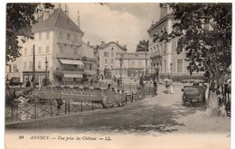 Haute Savoie - ANNECY -  Vue Prise Du Château - 1920 - Annecy